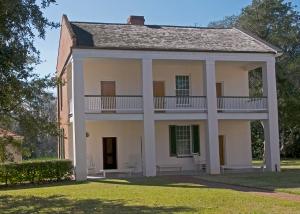 plantation, slave quarters