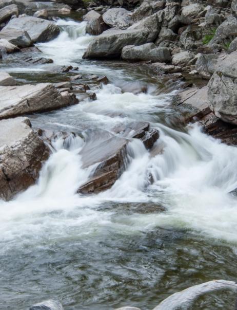 Swirling Water Near Middlebury, VT