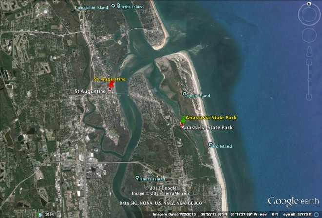 Google Earth, Florida, St. Augustine