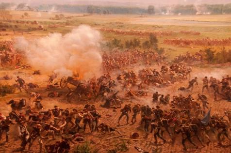 Gettysburg Diorama Scene