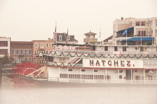 Steamboat Natchez In The Fog
